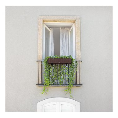 Lechuza Balconera Cottage 80 Серое — Luxury Plants